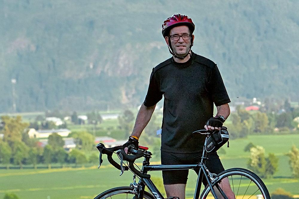 Mike Woodard & Bike