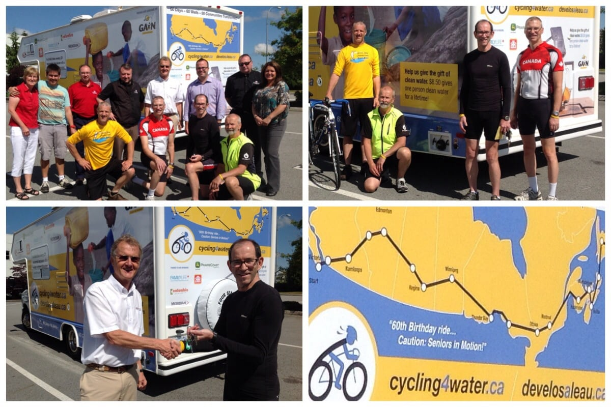 FraserWay RV Cycling4Water