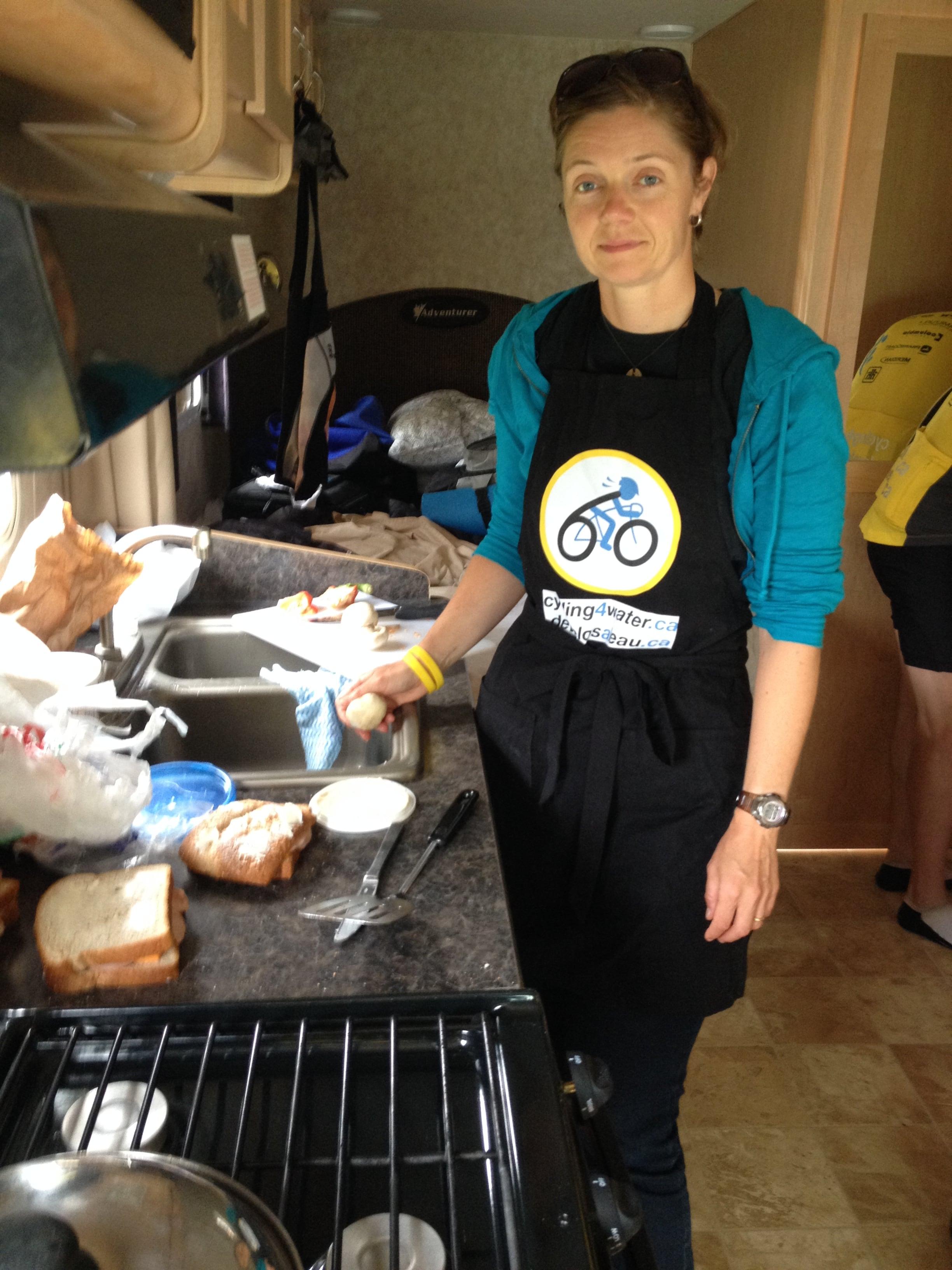 Jacquie Cooking