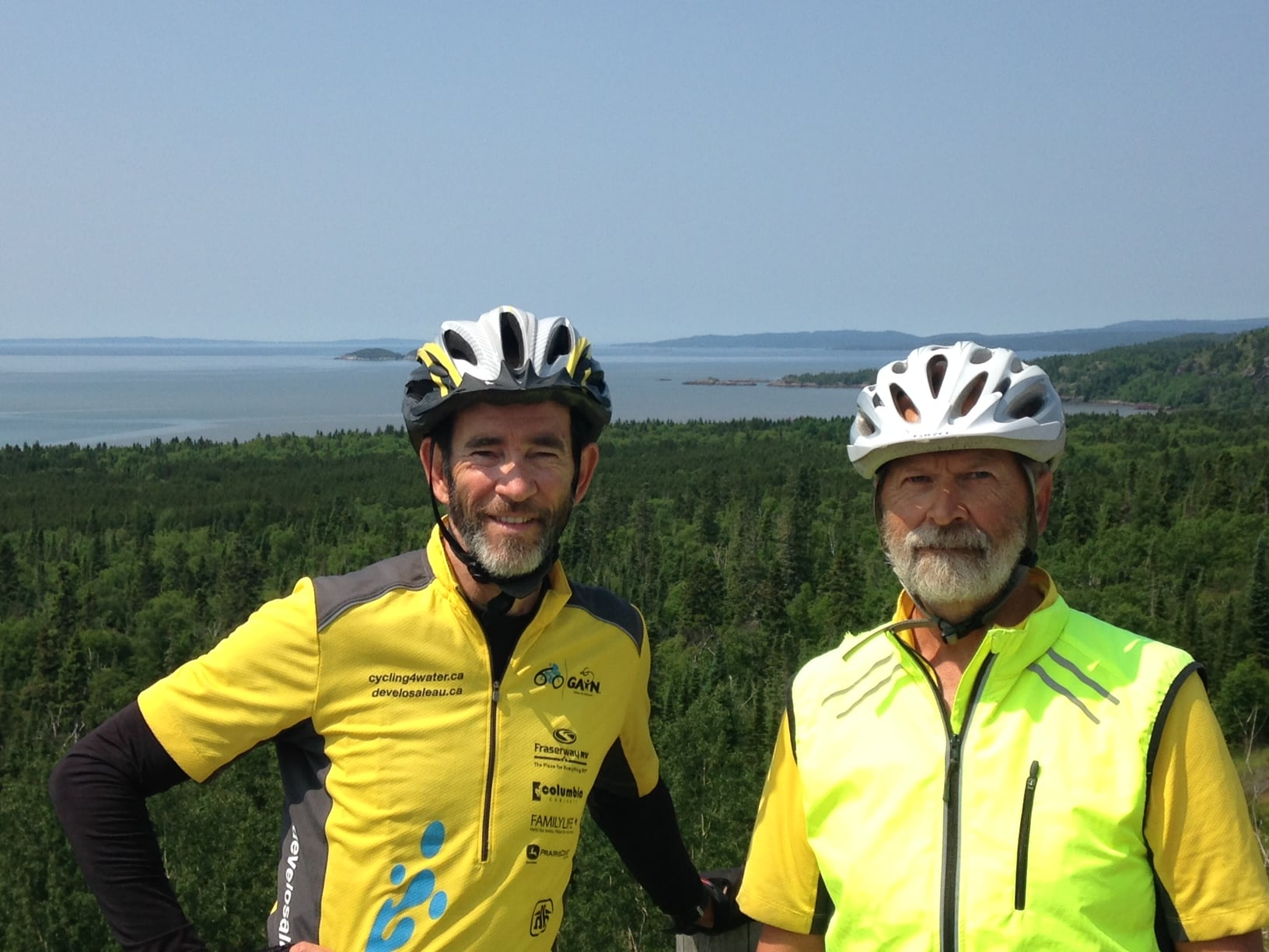 Day 24: Ross Port to White River, Ontario 207 km